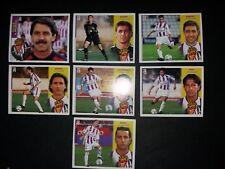 ESTE 2002 2003 LOTE 13 CROMOS DISTINTOS DEL REAL VALLADOLID