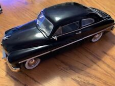 1949 Ford Mercury Coupe American Muscle Black ERTL 1/18