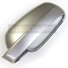 VW GOLF MK4 PASSAT REFLEX SILVER LEFT PASSENGER SIDE DOOR WING MIRROR COVER CAP