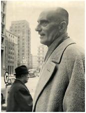 Italia, Indro Montanelli, giornalista, saggista e commediografo italiano Vintage