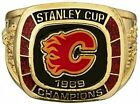 1989 Calgary Flames Molson Hockey Replica Ring NHL Stanley Cup Great Item