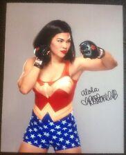 Rachael Ostovich 8x10 UFC TUF MMA INVICTA Wonder Woman