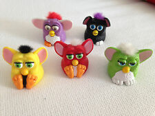 MCDONALDS FURBY TOYS LOT OF 5 VINTAGE WORKING HAPPY MEAL FURBIES