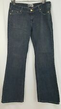 Levis low rise slim medium wash denim bootcut jeans juniors 13 W32 L32