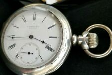 Howard Series IV, 4, N Size 18s OF Coin Case,15J Pocket Watch, SW & SET. Ca.1879
