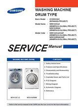 Samsung WD9122CLE WD9102RNW Washing Machine Service Manual