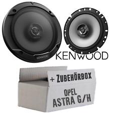 Kenwood Altavoces para Opel Astra G, H 16cm 2-wege Engatusar Coche Cajas