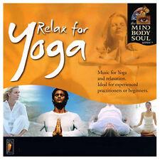 RELAX FOR YOGA - THE MIND BODY SOUL SERIES - RON & BERYL MOLES - NEUF NEW NEU