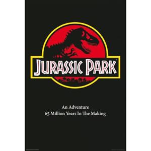 "Jurassic Park Movie Poster – Steven Spielberg – 91 x 61 cm 36"" x 24"""