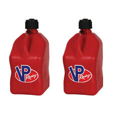 VP Racing 5 Gallon Motorsport Racing Utility Jug Gas Can, Red (2 Pack)