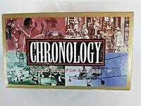 Vintage Chronology Game Spears Games Mattel 1996 Complete