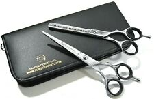"""Professional Barber Salon Hairdressing Scissor Thinning Haircutting 6"""" shears"""