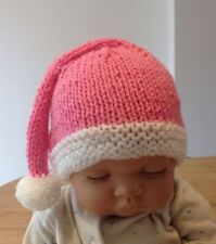 Hand Knitted Baby Pixie/elf Christmas Hat (3-6 Months)
