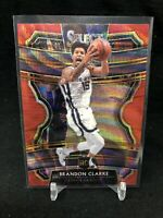 BRANDON CLARKE Red Wave Prizm RC 2019-20 Select Concourse #76 Rookie TMALL M65
