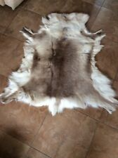 Genuine  Reindeer Hide  Rug or Wall Hanging from Lapland