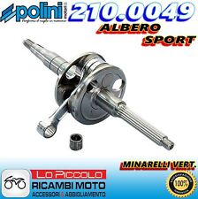 210.0049 ALBERO MOTORE SPORT POLINI ALLEGGERITO MBK BOOSTER 50 SPIRIT / TRACK