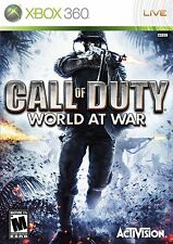 (NEW SEALED) CALL OF DUTY WORLD AT WAR XBOX 360 VIDEO GAMES GAME
