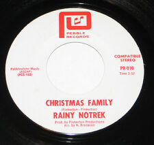 "Rainy Notrek 7"" 45 HEAR PRIVATE FOLK PSYCH Christmas Family PEBBLE Come See"