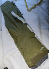 NORTH FACE MENS SIZE LARGE WINTER SNOW PANTS FOREST GREEN