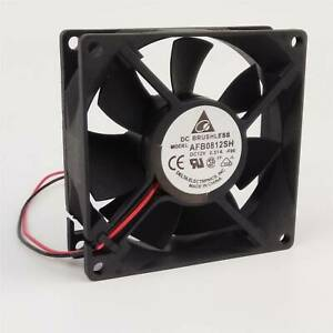 New Delta Brushless Cooling Fan 80x80x25mm AFB0812SH 80mm 8025 12V 0.51A DC