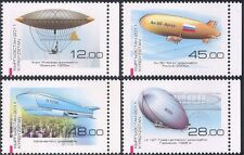 Kyrgyzstan 2011 Airships/Balloon/Dirigibles/Graf Zeppelin/Aircraft 4v set n44184