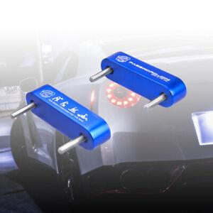 NEW Blue Password JDM Hood Vent Spacer Risers 90-01 Integra / 88-15 Civic