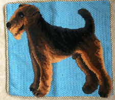 New Welsh Airedale Lakeland Fox Terrier Plush Dog Pillow