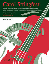Carol Stringfest Violin Duet Christmas String Ensemble Beginner FABER Music BOOK