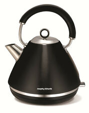 Morphy Richards 102002 Graphite Accents Traditional Pyramid Kettle