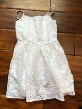 Gymboree Dress Size 4 T White Girls Clothing Eyelit Summer Dressy Kids Toddler