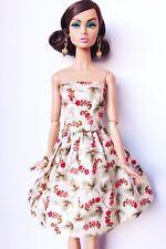 Vestido Flores Nuevo Para Poppy Parker, Barbie