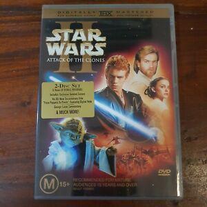 Star Wars - Episode II - Attack Of The Clones (DVD, 2002) 2 disc set   432