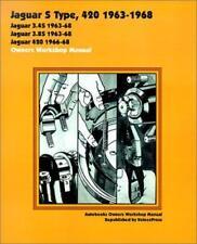JAGUAR S TYPE 420 FOUR TWENTY DAIMLER SOVEREIGN Owners Manual Service Handbook