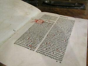 Werden Sermones dormi secure 1484 Inkunabel Wiegendruck Frühdruck Predigt sf