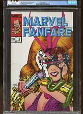 MARVEL FANFARE #13 CGC GRADED 9.8 WHITE PAGES 1984 PEREZ & CHARLES VESS ART