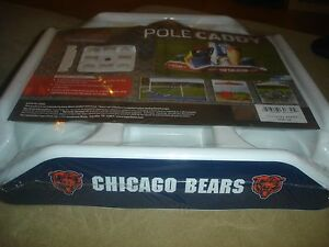 NEW NFL Chicago Bears Pole Caddy tent drink tray Logo