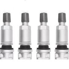 PEUGEOT 407 607 807 CITROEN c4 c5 Sensore TPMS pressione pneumatici Kit Riparazione Valvola Di x4
