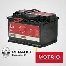 Batteria avviamento auto originale Renault L5 Motrio 12V 90Ah 750A Positivo DX