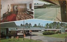 1976 Chrome Postcard: 'Trot Motel Interior - Smithfield, North Carolina NC'