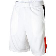 Men's Nomis Ballin Athletic Mesh Shorts White Size Small