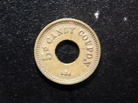 1924 5 CENT CANDY COUPON TOKEN!  XX325XXX