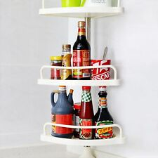 idrop 4-Layer Corner Shelf - Extendable & Adjustable Toilet / Kitchen Shelf rack