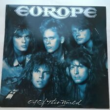 EUROPE - Out Of This World - 1988 RARE MINT PROMO LP Hard Rock Metal Vinyl