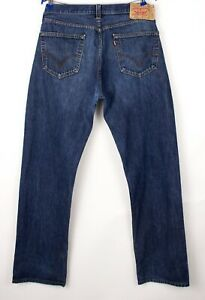 Levi's Strauss & Co Hommes 501 Jeans Jambe Droite Taille W36 L34 BDZ62