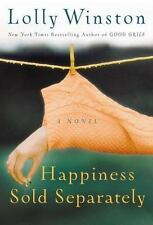 Happiness Sold Separately by Lolly Winston (2006, Hardcover) free shipping!!LOOK