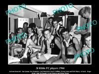 OLD POSTCARD SIZEAL PHOTO OF THE 1966 St KILDA FC PLAYERS DITTERICH NEALE etc