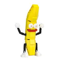 MOC-0199 Dancing Yellow Banana Building Blocks Set Kids Educational Toys Bricks
