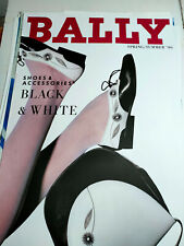 Plakat Bally Black & White  Spring/ Summer 1990  DIN A0 TOP!