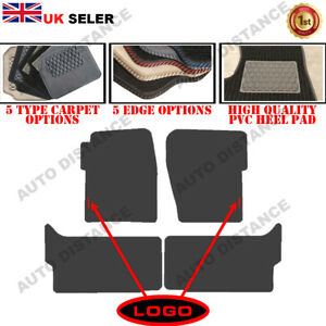 Tailored Carpet Car Mats FOR Land Rover Discovery 2 Alternative WITH LOGO 99-04