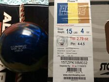 15lb Used Overseas Storm Phaze International R2S Cover (Found The Box)